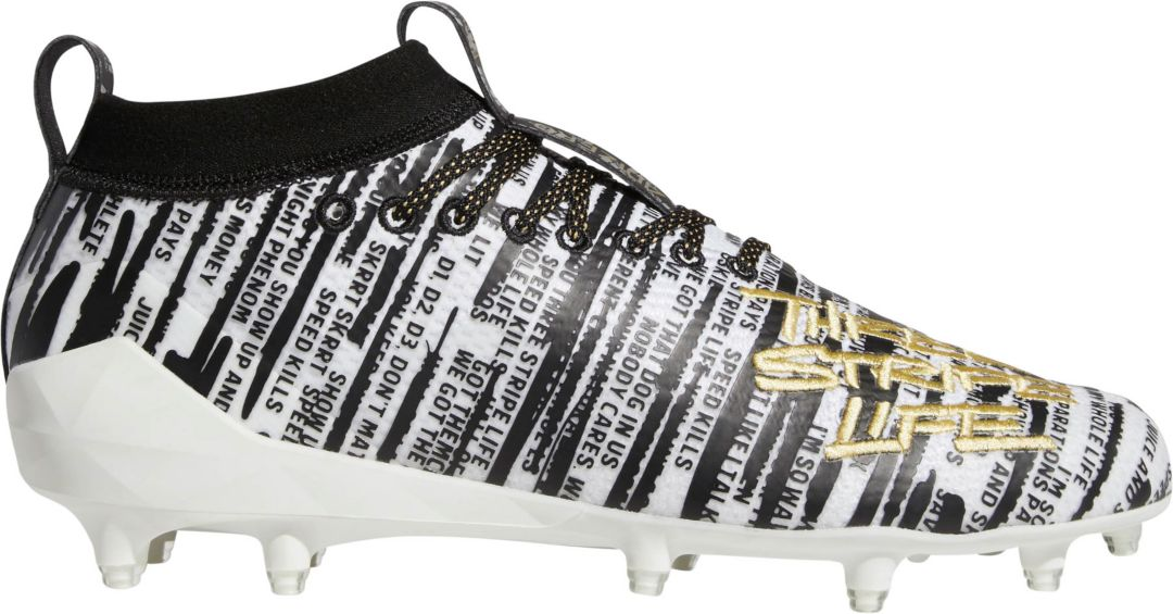 c401aaa6dec3 adidas Men's adizero 8.0 Three Stripe Life Football Cleats. noImageFound.  Previous