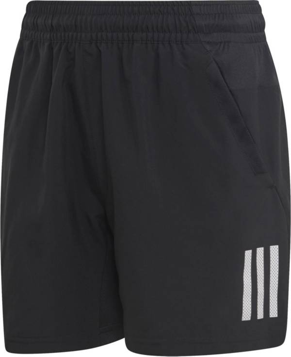 adidas Boys' Club 3 Stripe Tennis Shorts product image