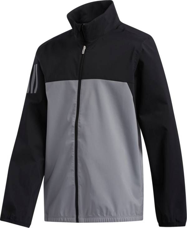 adidas Boys' Provisional Full Zip Golf Rain Jacket product image