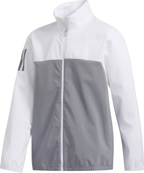 adidas Boys' Provisional Full Zip Golf Rain Jacket product image