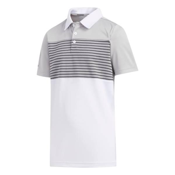 adidas Boys' Engineered Stripe Golf Polo product image