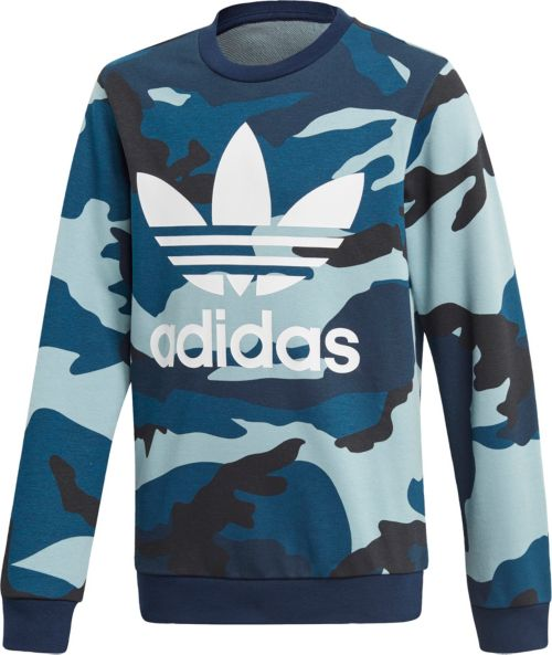 18c90f0b adidas Originals Boys' Camo Crewneck Sweatshirt | DICK'S Sporting Goods