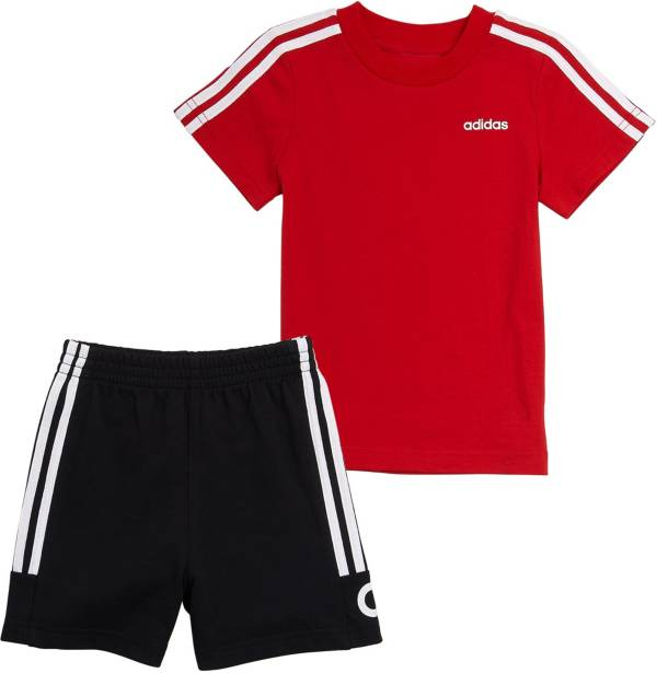 adidas Little Boys' Cotton Sports T-Shirt and Shorts Set product image