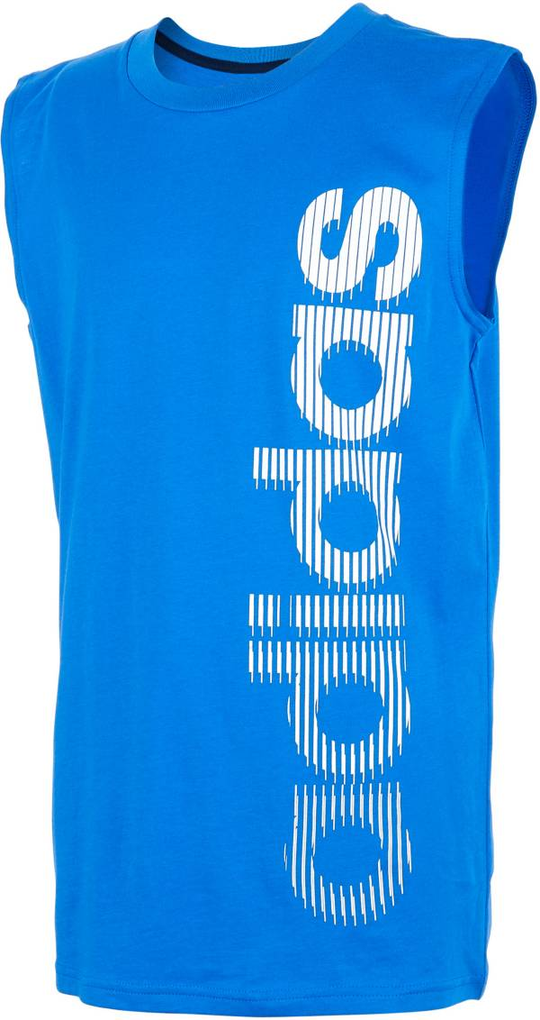 adidas Boys' Vertical Logo Graphic Tank Top product image