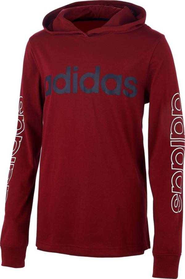 adidas Boys' Linear Hoodie product image