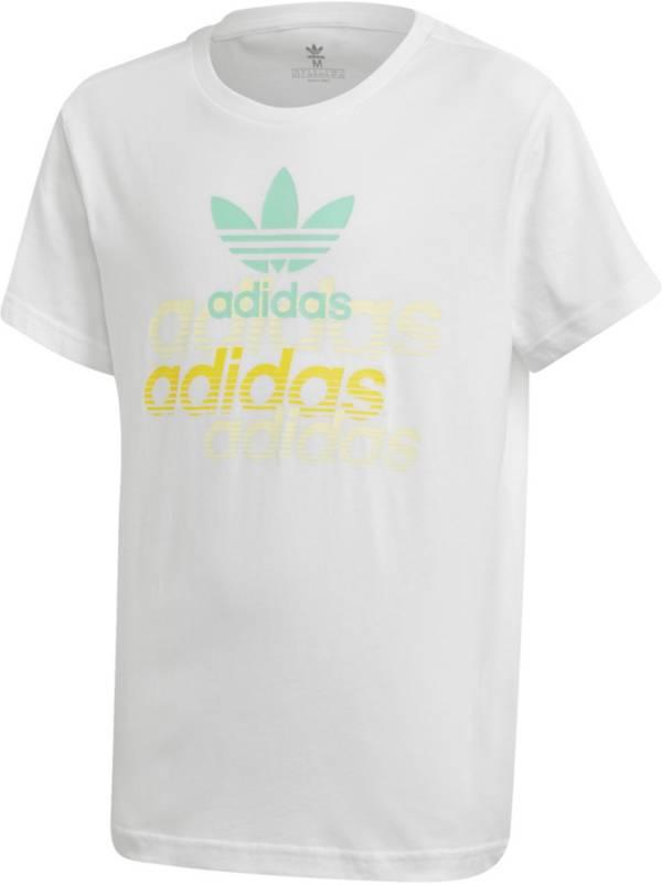 adidas Originals Boys' Color Pop Logo Graphic T-Shirt product image