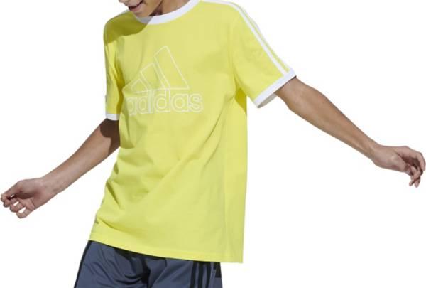 adidas Boys' Badge of Sport 3-Stripe T-Shirt product image