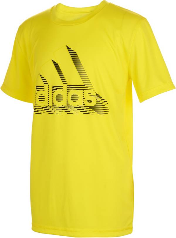 adidas Boys' Speed Lines Badge of Sport T-Shirt product image