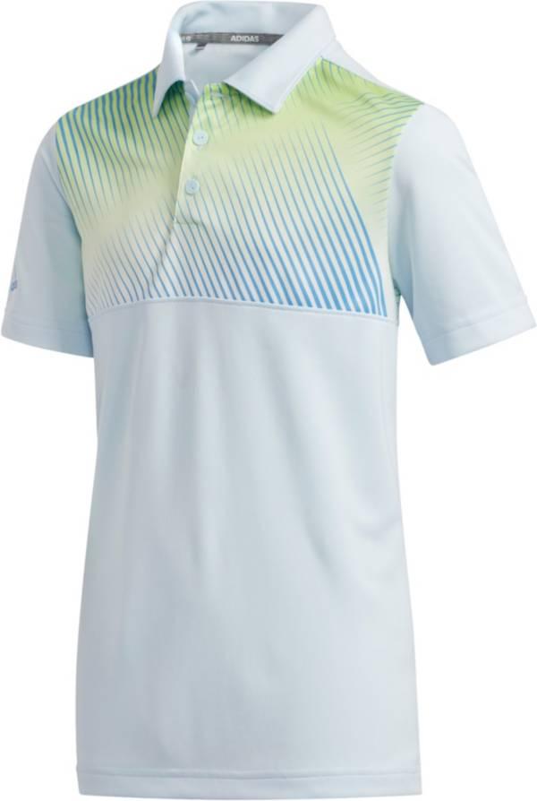 adidas Boys' Gradient Stripe Golf Polo product image