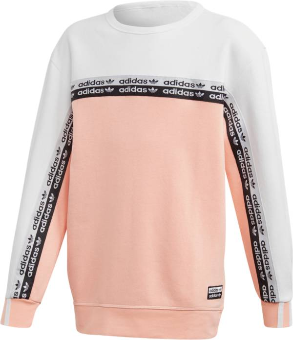 adidas Originals Boys ' Taping Crew Sweatshirt product image