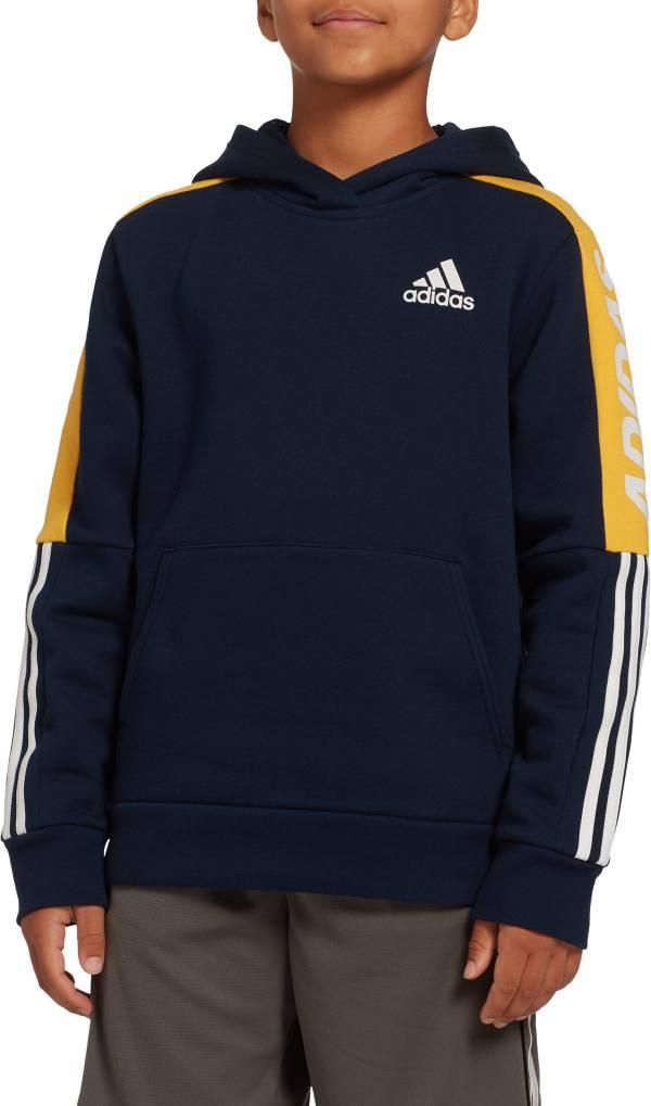 adidas Boys' Fleece 3-Stripes Hoodie product image