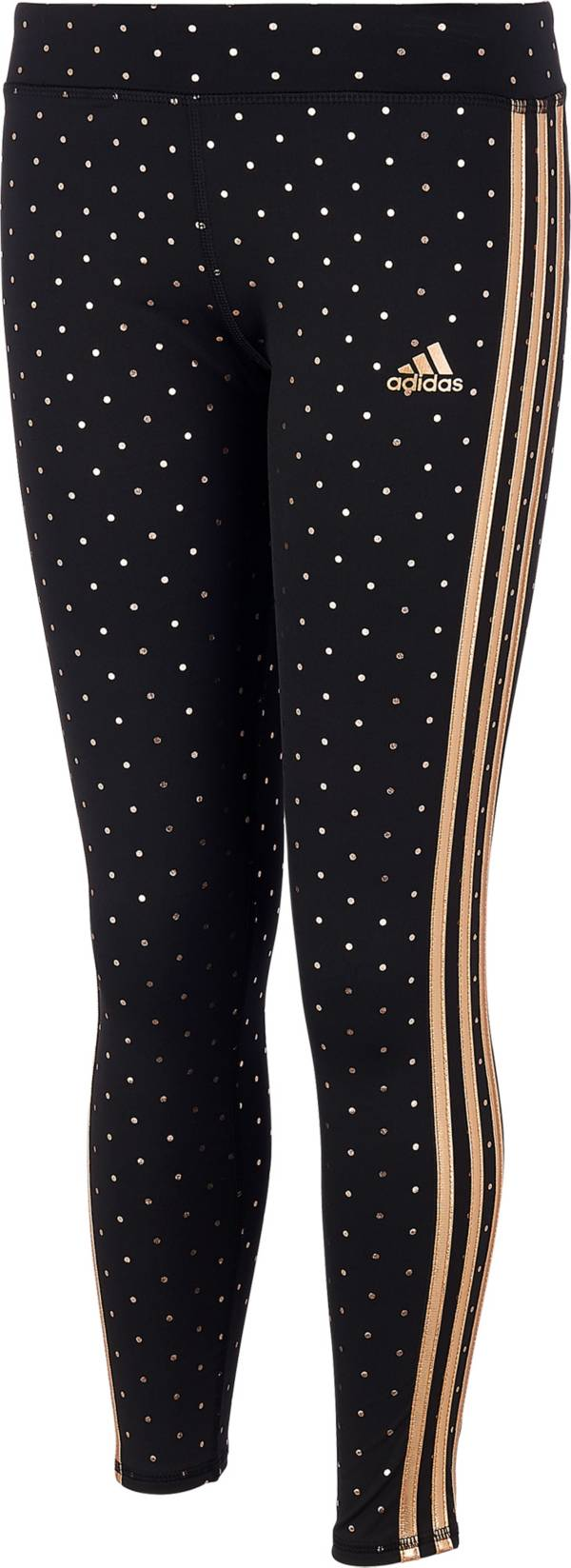 adidas Little Girls' climalite Dot Print Tights product image