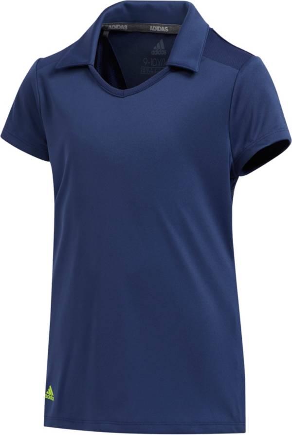 adidas Girls' Short Sleeve Golf Polo product image