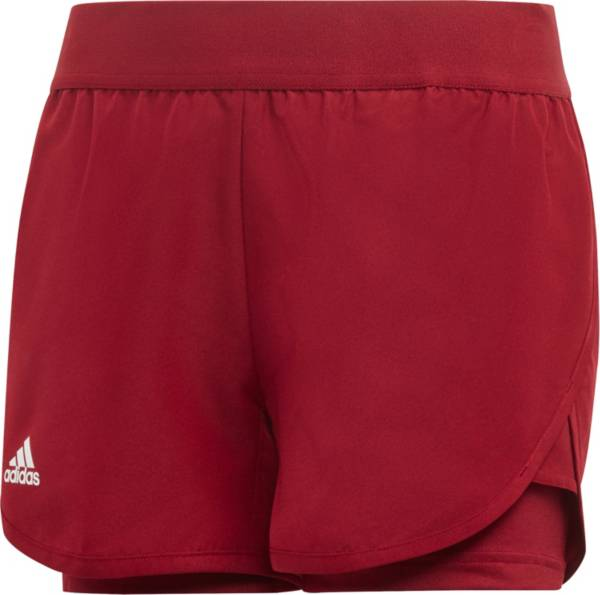 adidas Girls' Club Tennis Shorts product image