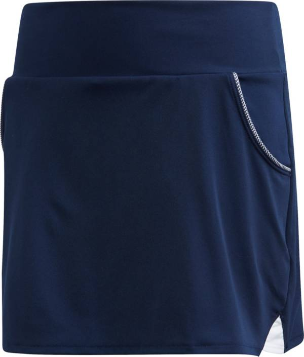adidas Girls' Club Piped Pocket Tennis Skort product image