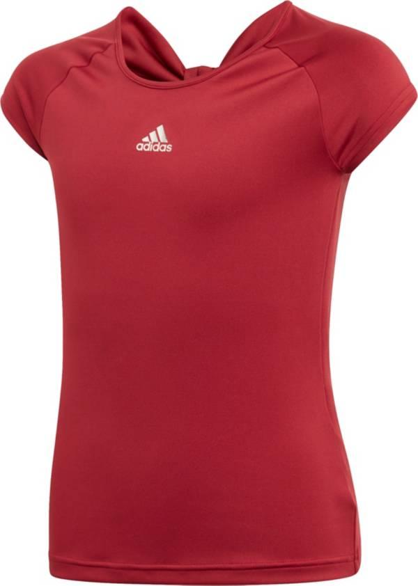 adidas Girls' Ribbon Tennis T-Shirt product image