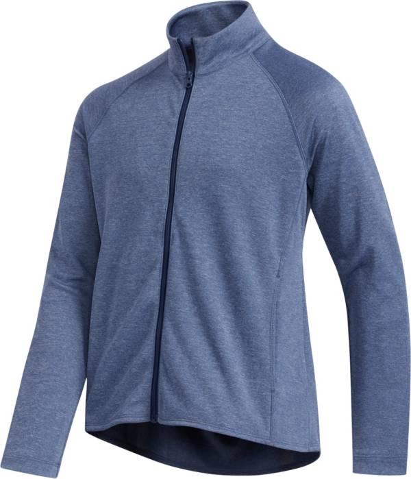 adidas Girls' Heathered Full Zip Golf Jacket product image