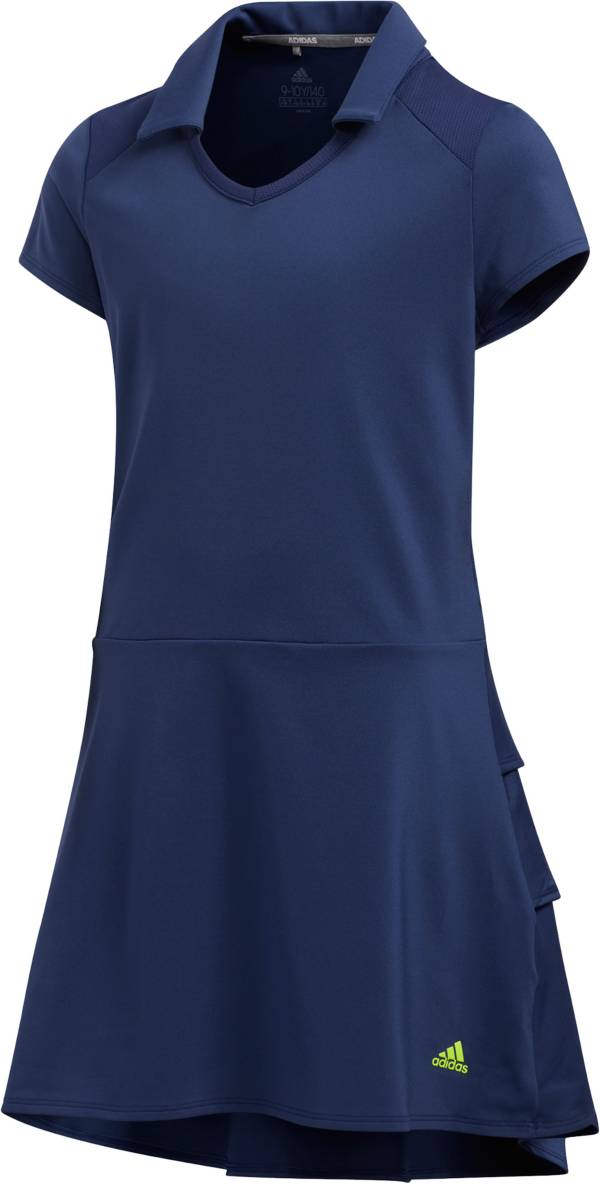 adidas Girls' Ruffled Golf Dress product image