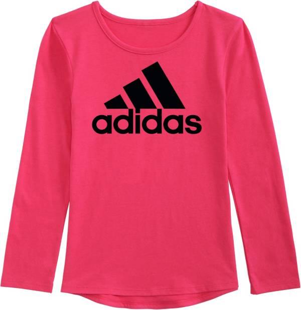 adidas Little Girls' Drop Tail Long Sleeve Shirt product image
