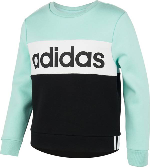 adidas Girls' Pieced Crew Sweatshirt product image