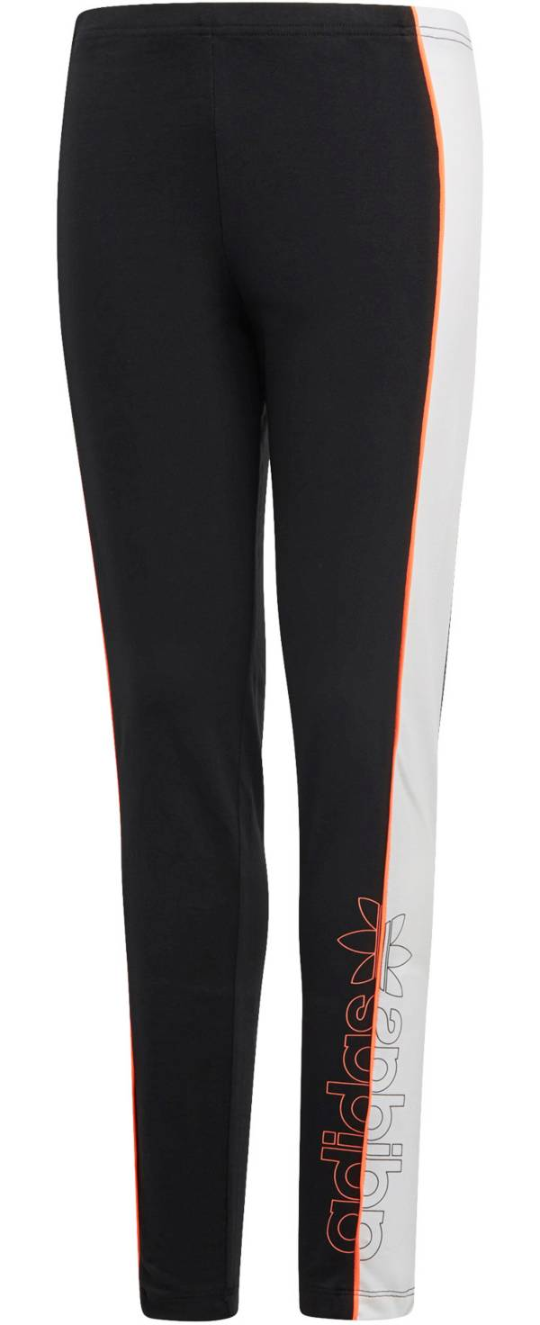adidas Originals Girls' Split Logo Leggings product image