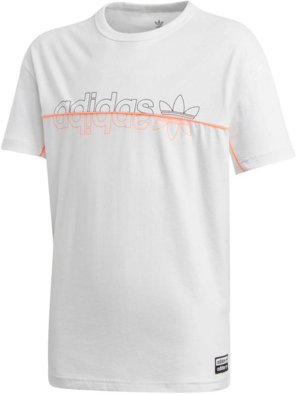 adidas Originals Girls' Split Logo Graphic T-Shirt product image
