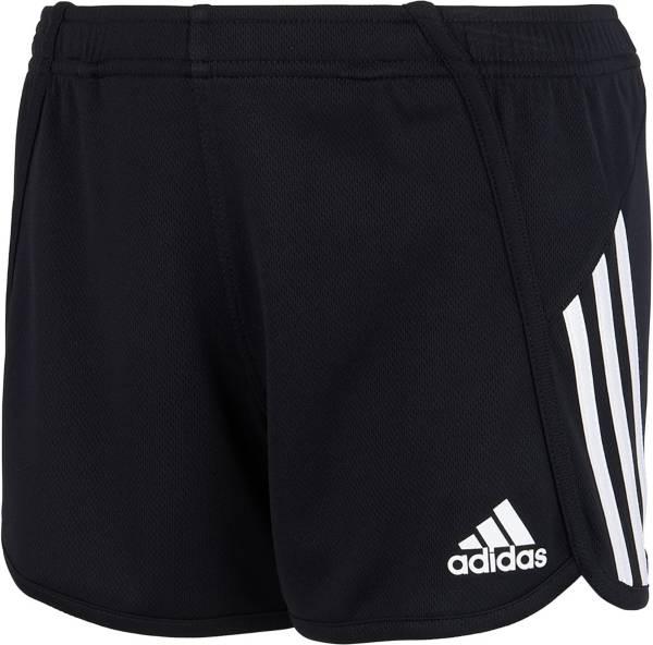 adidas Girls' 3-Stripe Mesh Shorts product image