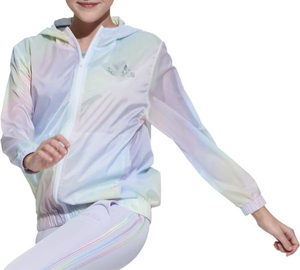 adidas Girls' Iridescence Windbreaker Jacket product image