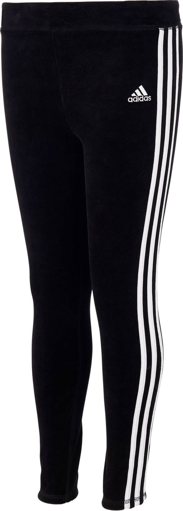 adidas Girls' Velour Stripe Tights product image
