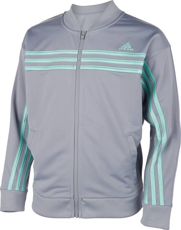 adidas Girls' 3-Stripes Tricot Jacket product image