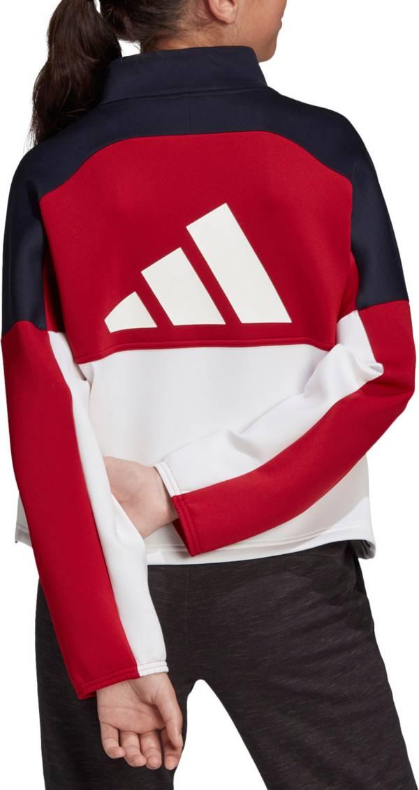 adidas Girls' The Pack Half Zip Jacket product image