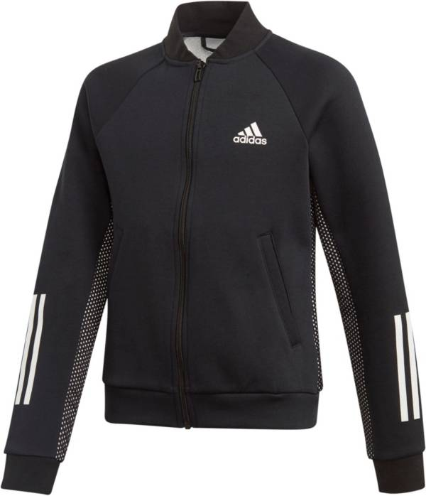 adidas Girls' ID Young VFA Cover Up Jacket product image