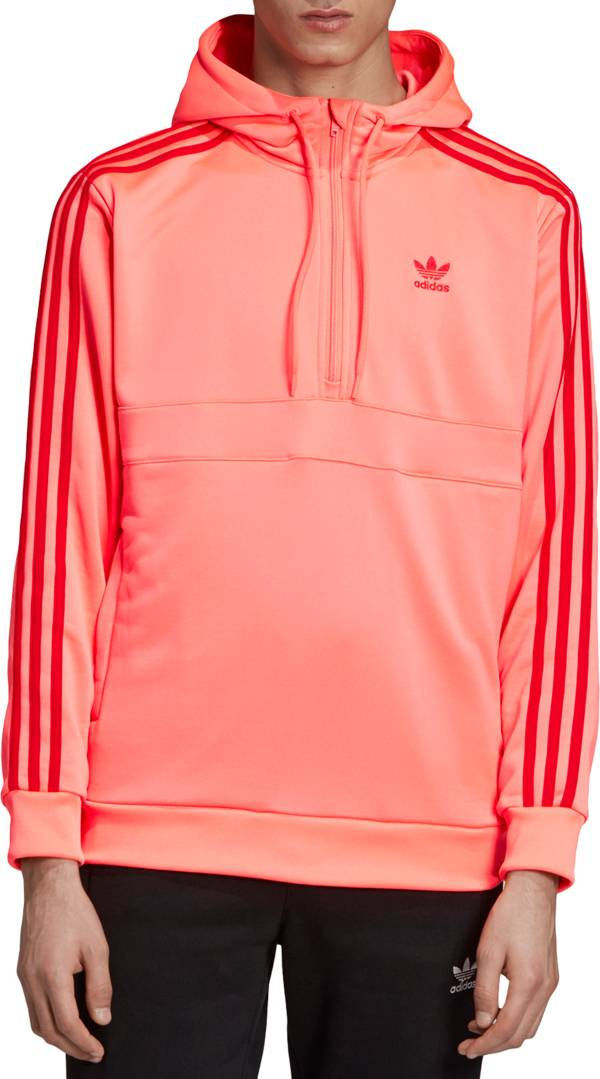 adidas Originals Men's 3-Stripes Half Zip Hoodie product image