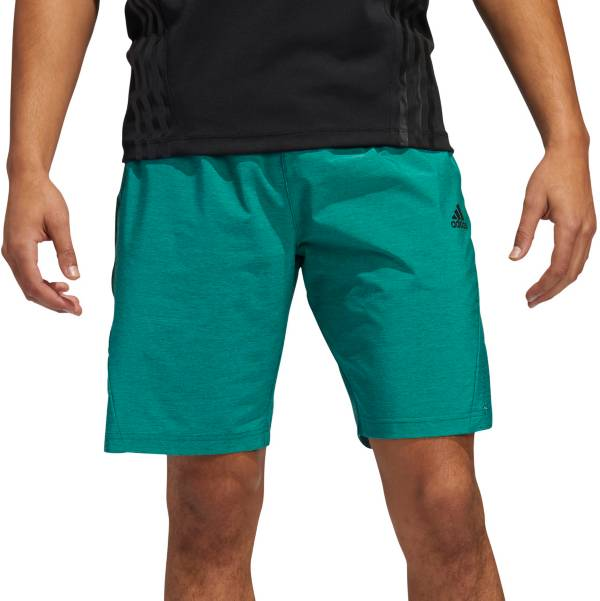 adidas Men's Axis 20 Woven Heathered Training Shorts product image