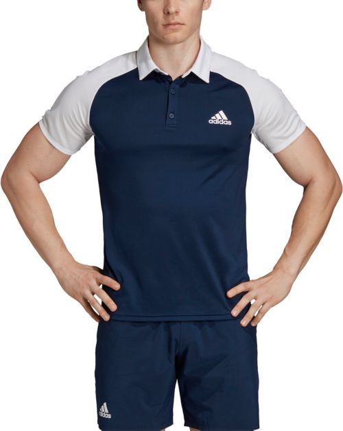 741b9676efa adidas Men's Club Color-Block Tennis Polo. noImageFound. Previous
