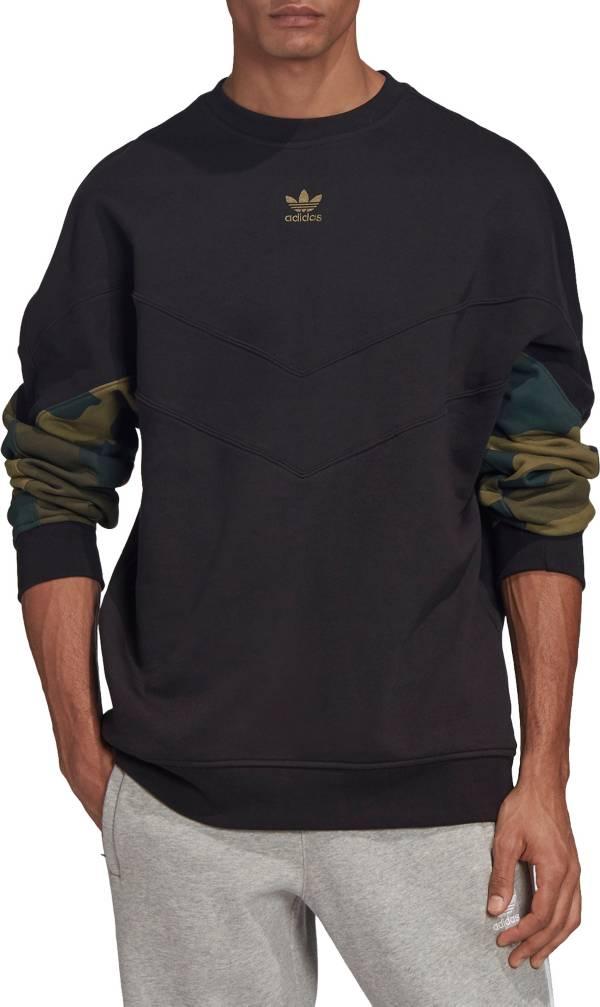 adidas Originals Men's Camo Crewneck Sweatshirt product image