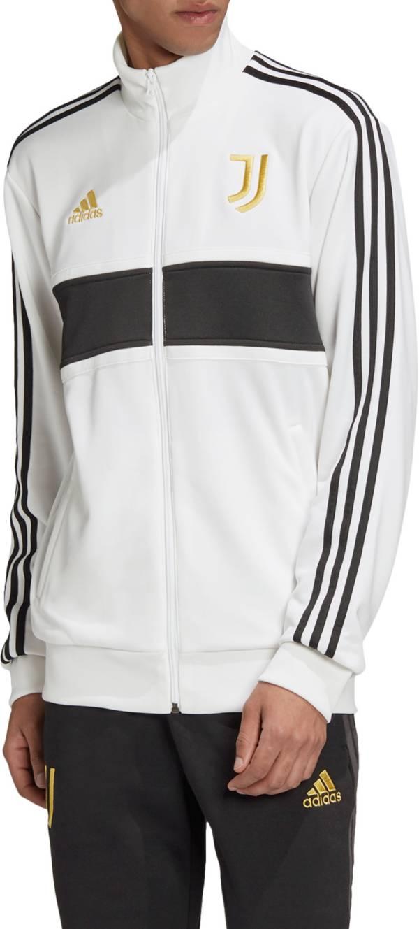 adidas Men's Juventus 3-Stripes Track White Jacket product image
