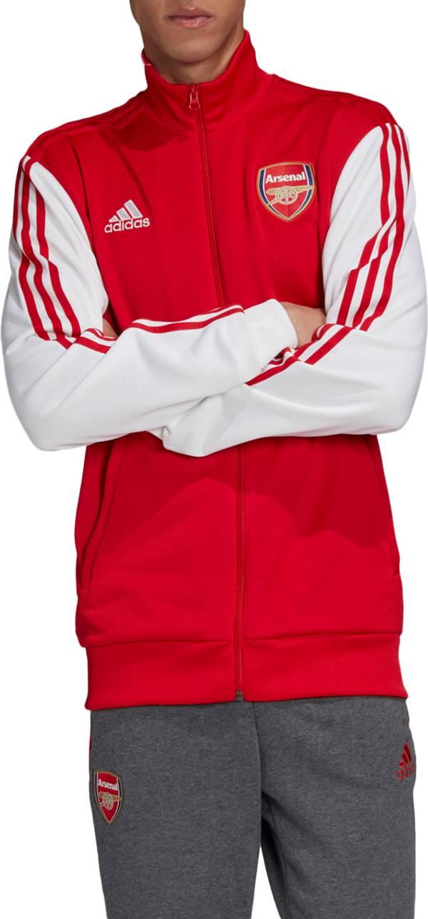 adidas Men's Arsenal Red 3-Stripes Track Jacket product image