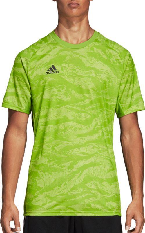 86c33757b adidas Men s AdiPro 18 Short Sleeve Goalkeeper Jersey. noImageFound.  Previous