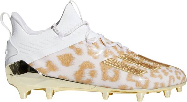 adidas Men's adizero X Anniversary Uncaged 2.0 Cheetah Football Cleats product image