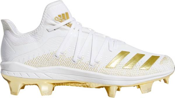 adidas Men's adizero Afterburner 6 GOLD TPU Baseball Cleats product image