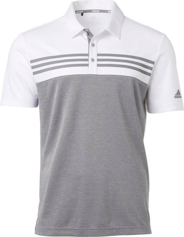 adidas Men's Drive Heather Block Golf Polo product image