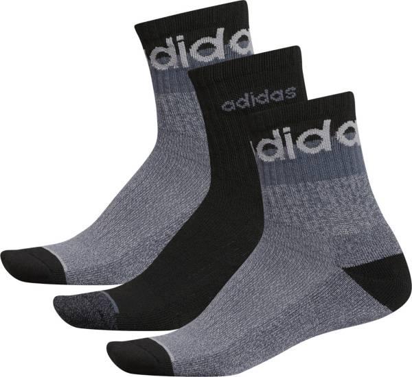 adidas Men's 3 Stripe High Quarter Socks 3 Pack product image