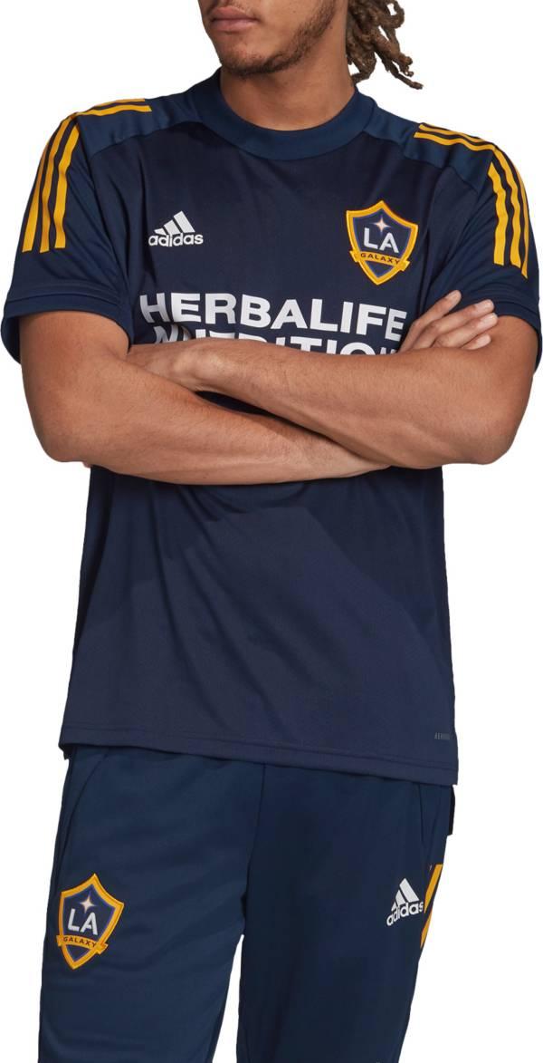 adidas Men's Los Angeles Galaxy Navy Training Jersey product image