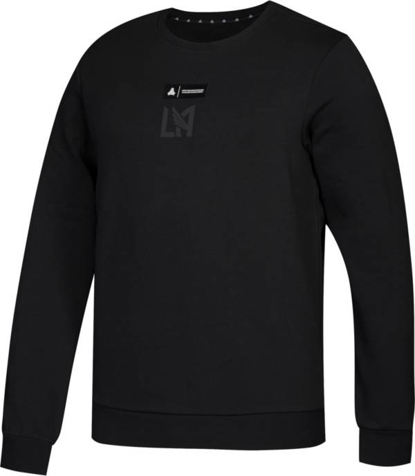 adidas Men's Los Angeles FC Tango Black Crew Sweatshirt product image