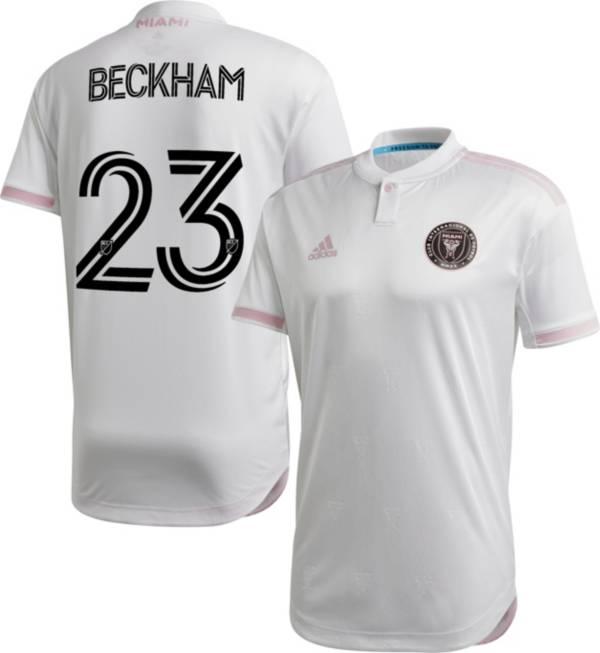 adidas Men's Inter Miami CF David Beckham #23 '20 Primary Authentic Jersey product image