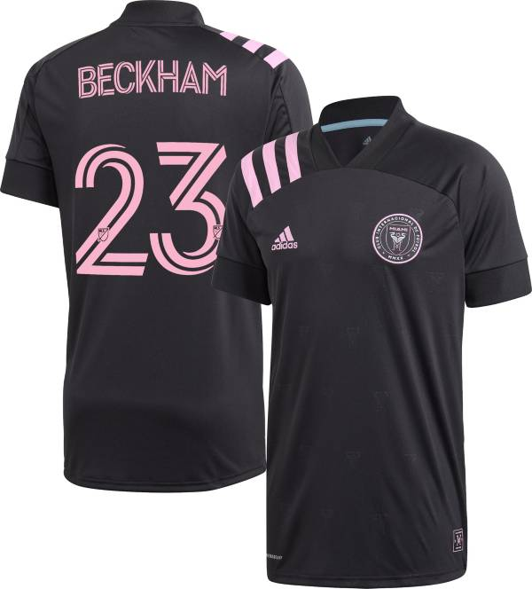 adidas Men's Inter Miami CF David Beckham #23 '20 Secondary Replica Jersey product image