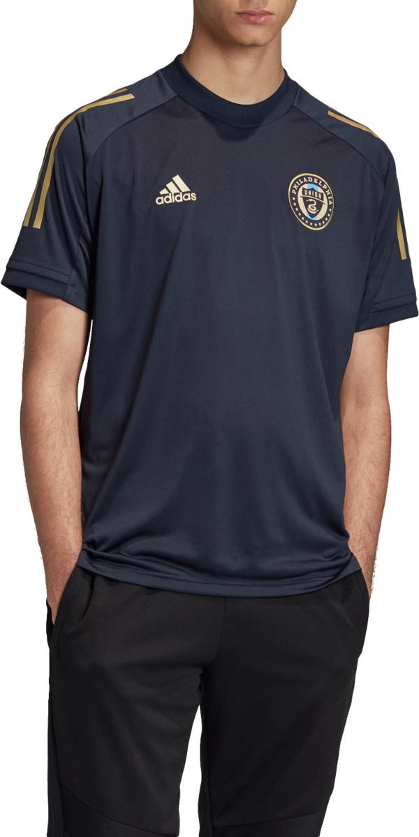 adidas Men's Philadelphia Union Navy Training Jersey product image