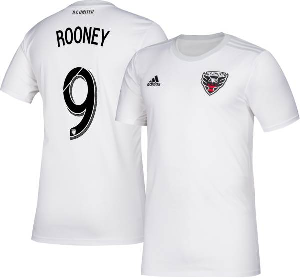 adidas Men's D.C. United Wayne Rooney #10 Secondary Replica Jersey product image