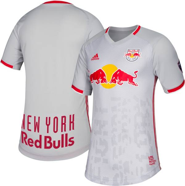 adidas Men's New York Red Bulls Primary Authentic Jersey product image